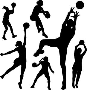 netball-silhouette